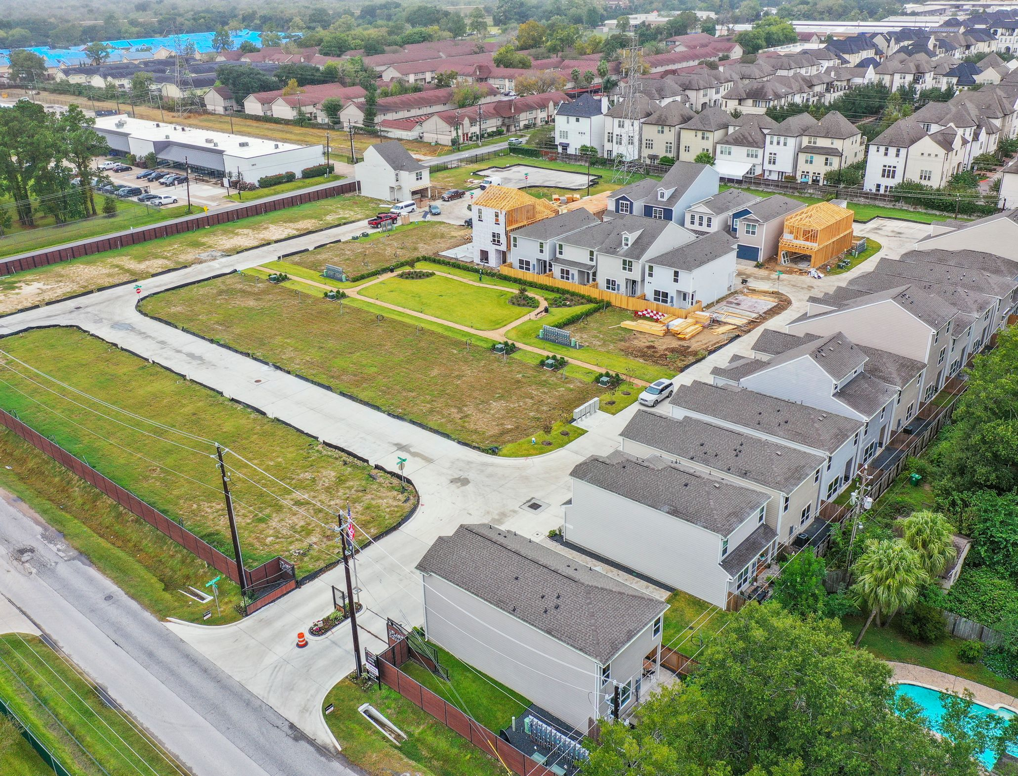 'Upland Square' by Princeton Homes in Houston