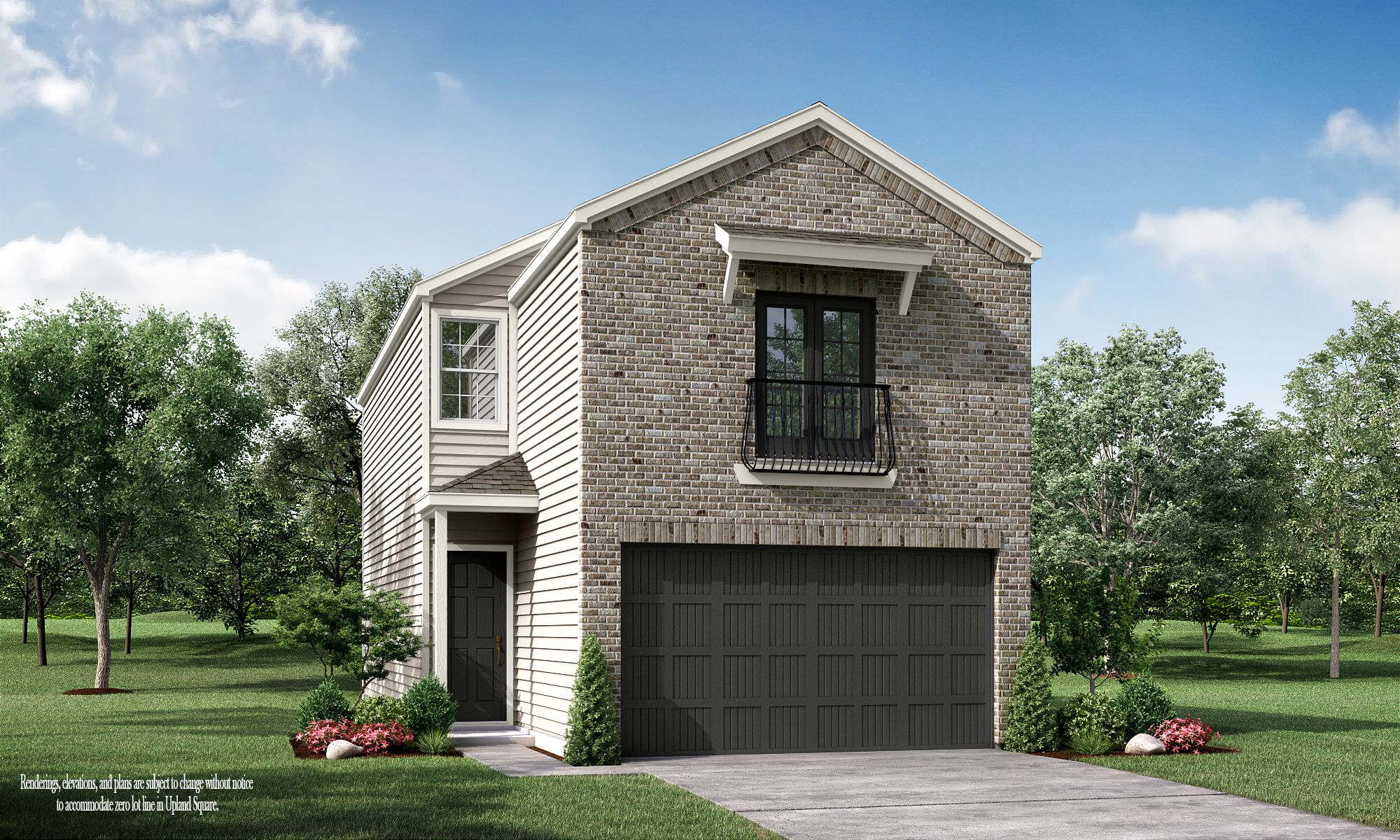 Exterior featured in the Upland Square - The Gardenia By Princeton Classic Homes in Houston, TX