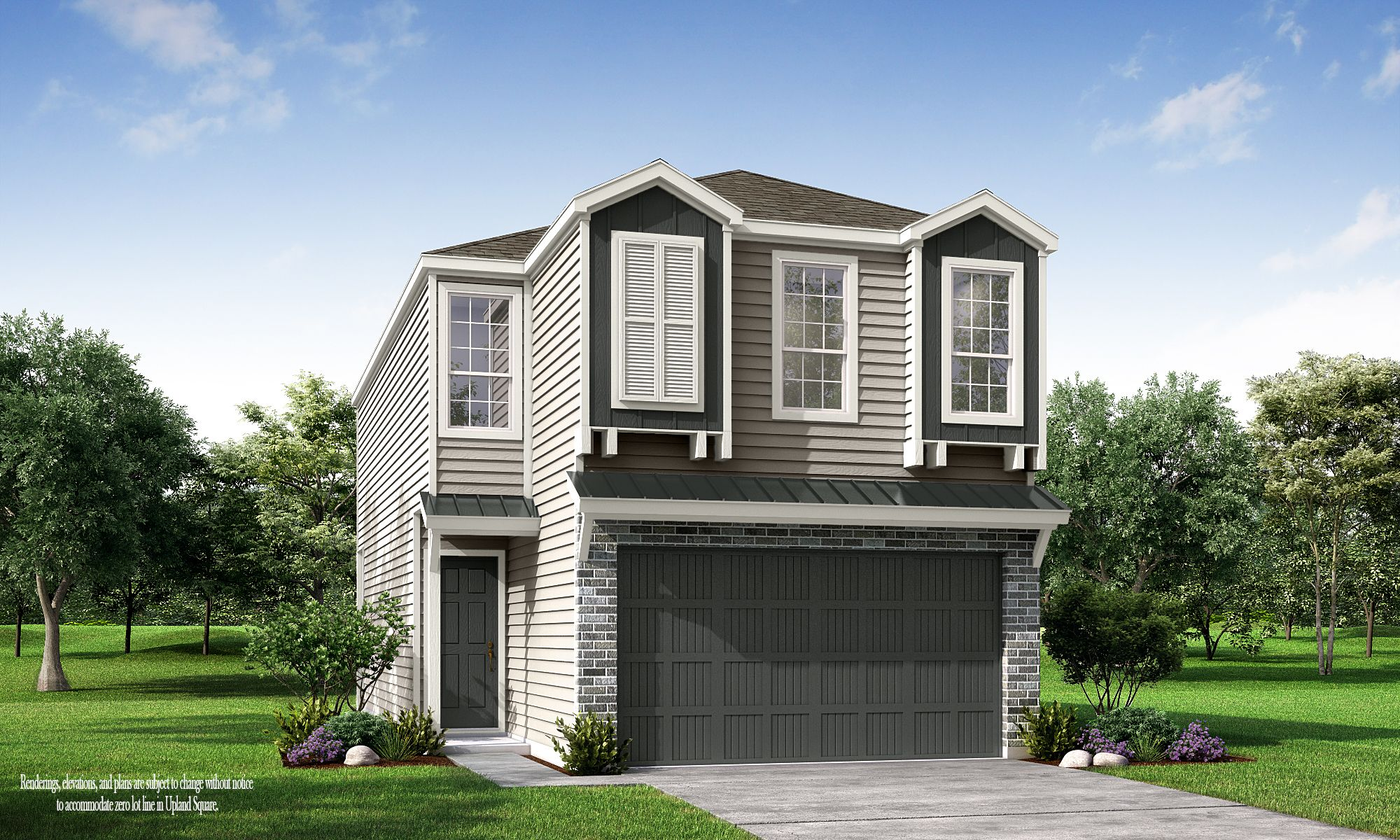 Exterior featured in the Upland Square - The Hawthorne By Princeton Classic Homes in Houston, TX