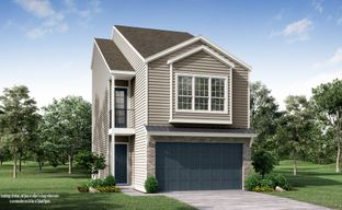Upland Square by Princeton Classic Homes in Houston Texas