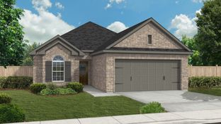 Rodeo Palms - The Asbury - Rodeo Palms - The Lakes: Manvel, Texas - Princeton Classic Homes