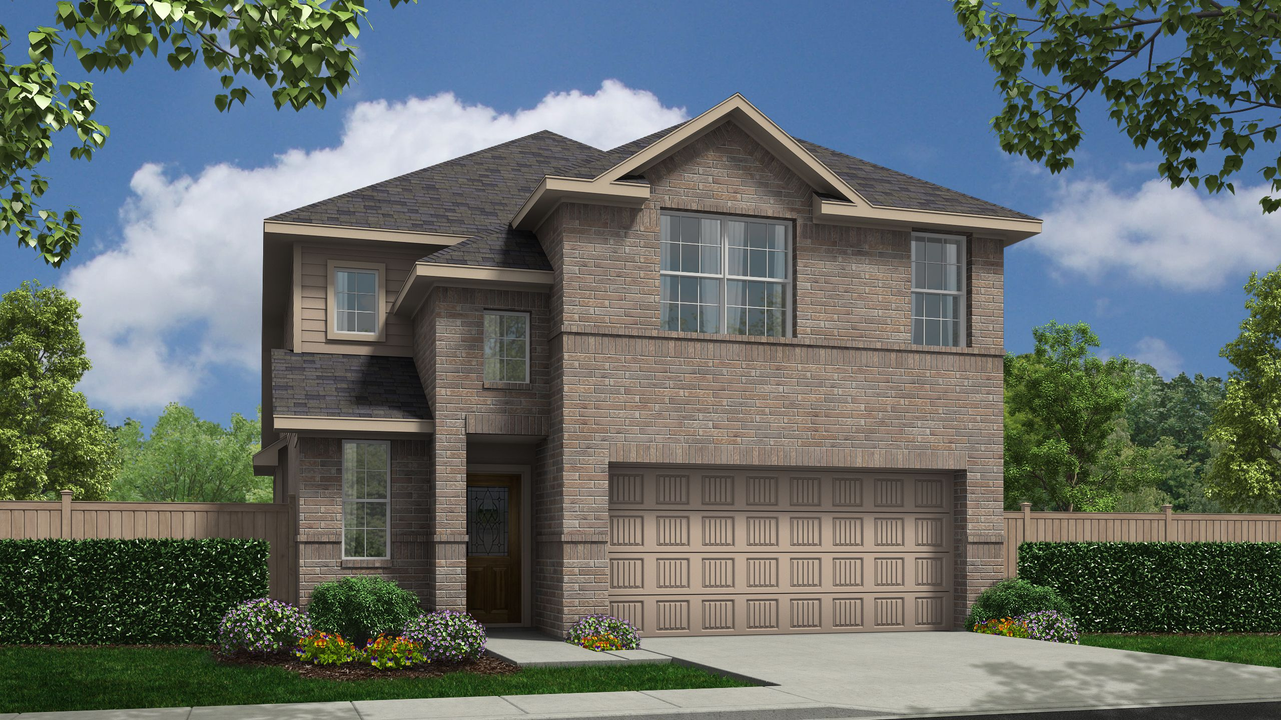 Exterior featured in the Alamosa Springs - Briscoe By Legend Homes in Bryan-College Station, TX