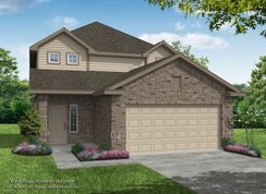 Merrylands - Poole II - Merrylands: Humble, Texas - Legend Homes