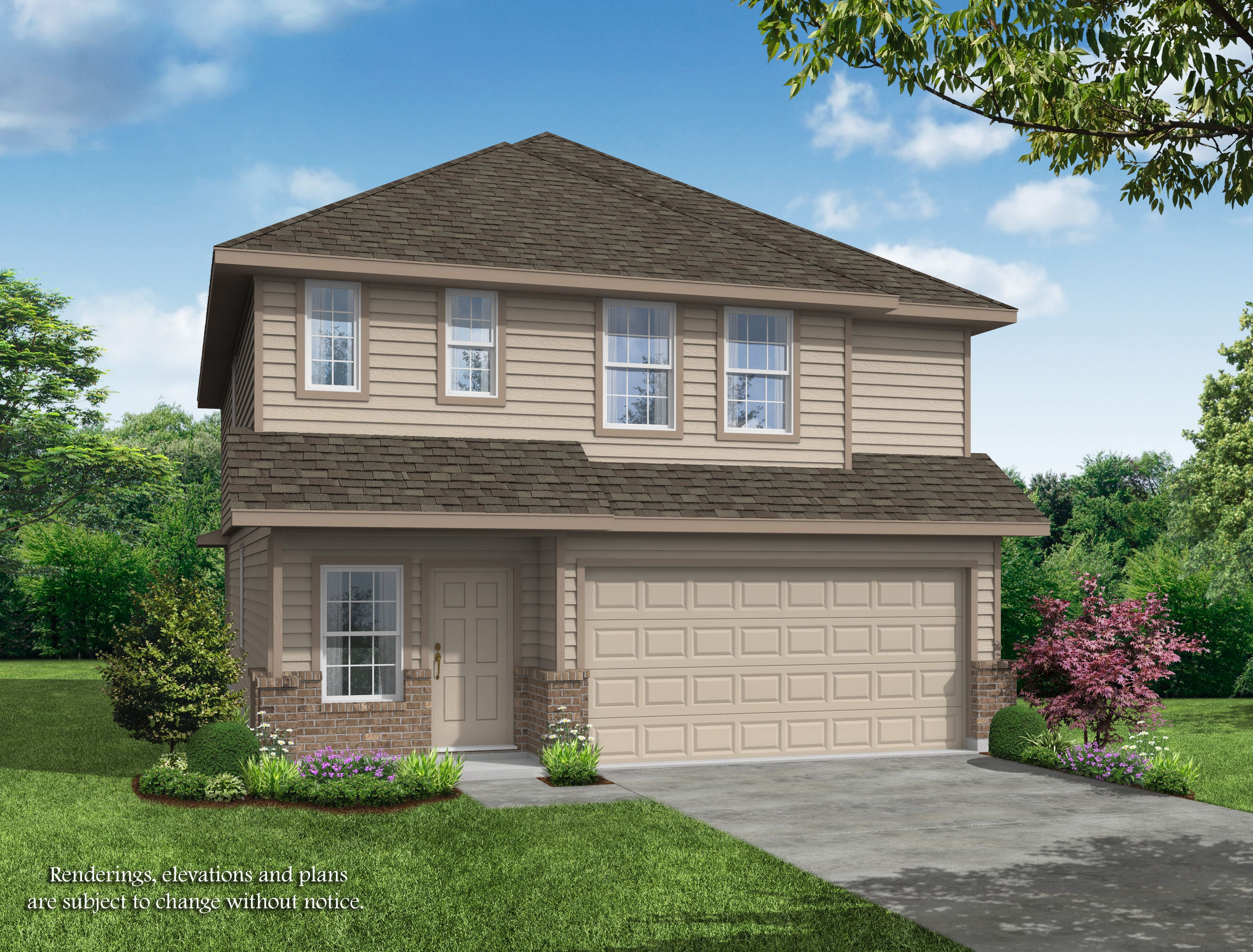 Exterior featured in the Alamosa Springs - Shannon By Legend Homes in Bryan-College Station, TX