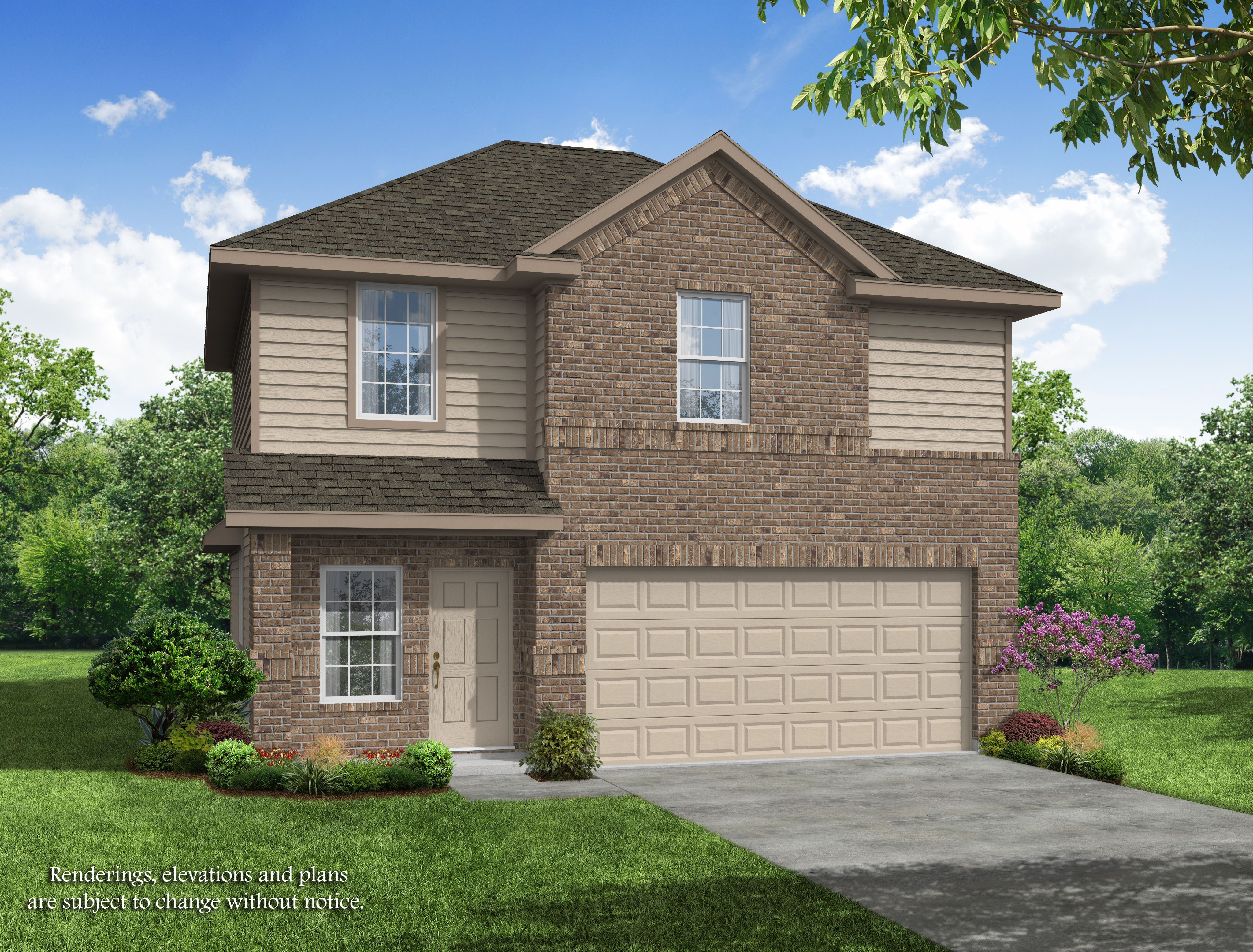Exterior featured in the Brooklyn Trails - The Aubrey By Legend Homes in Houston, TX
