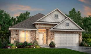 Rodeo Palms - The Carter - Rodeo Palms - The Lakes: Manvel, Texas - Princeton Classic Homes