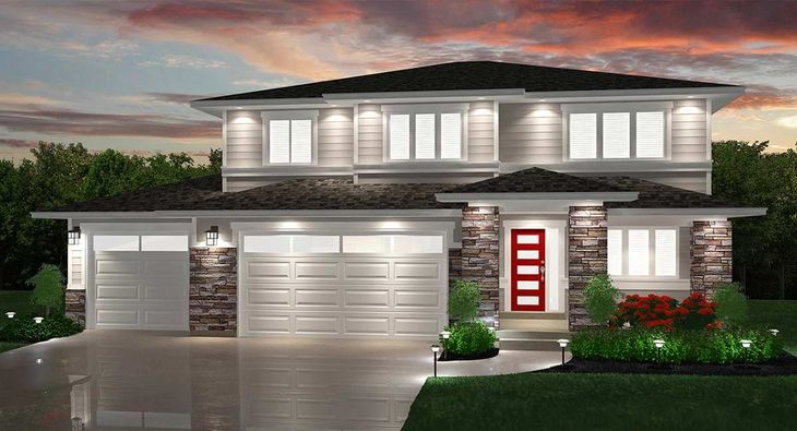 Contemporary Snowmass Rendering