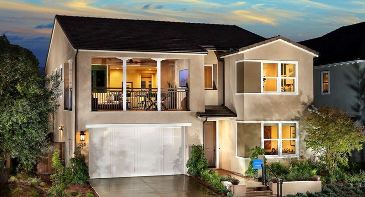 New Homes in Chula Vista - Residence 3B