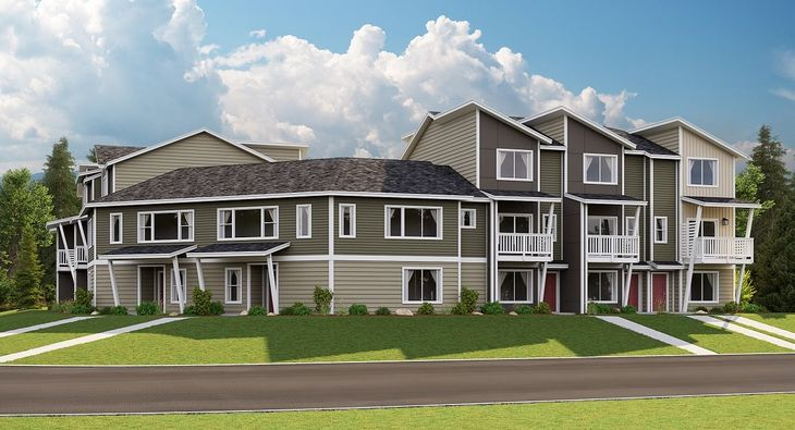 Emerald Pointe Townhomes - The Grace
