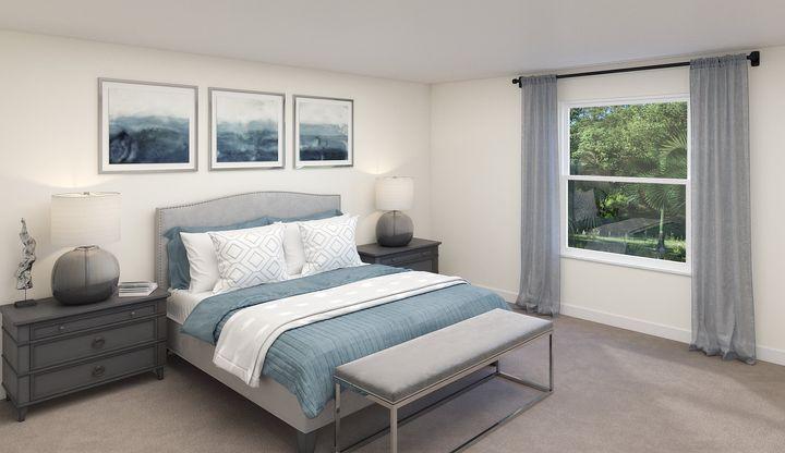 Providence Master Bedroom