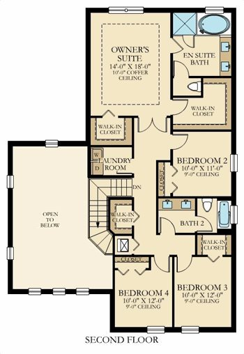 Sienna Plan At Bellasera The Piazza Collection In Royal Palm Beach Fl By Lennar