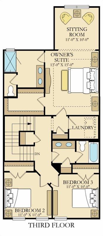 Chatham Plan At Dunwoody Village In Dunwoody Ga By Lennar