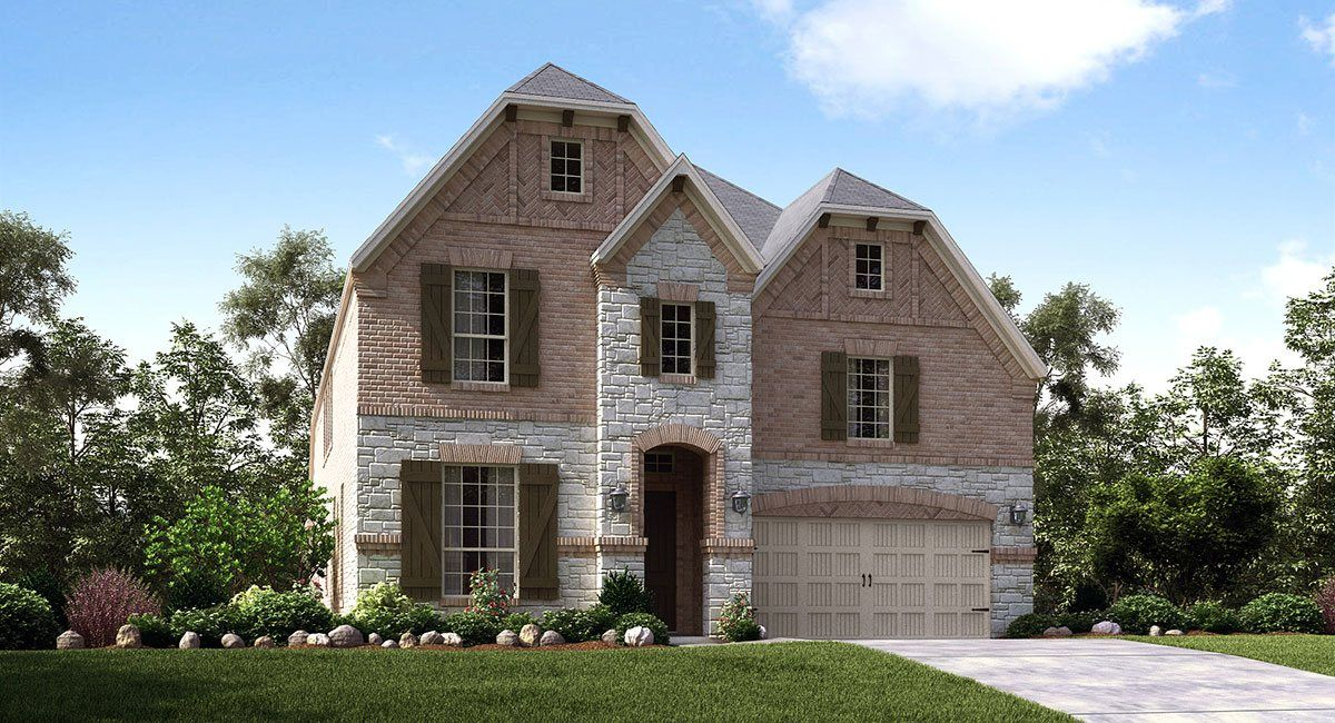 Estates At Bear Creek In Euless Tx New Homes Amp Floor