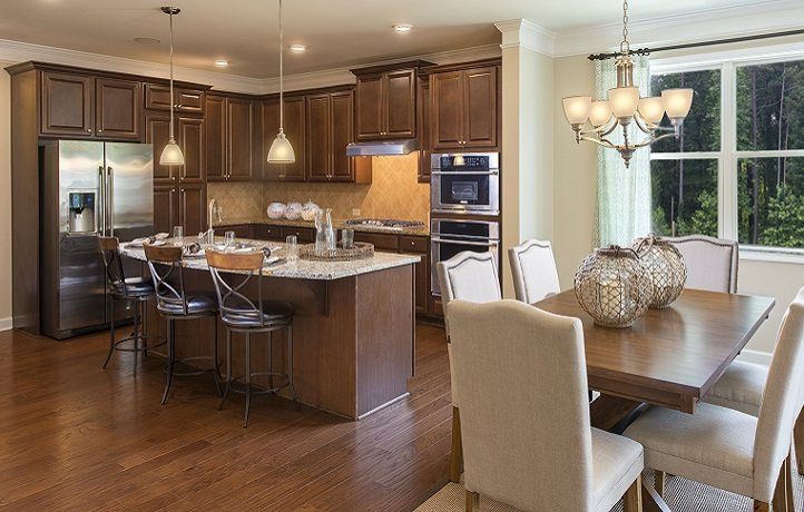 Kitchen-in-Magnolia w/Basement-at-Hickory Manor-in-Woodstock
