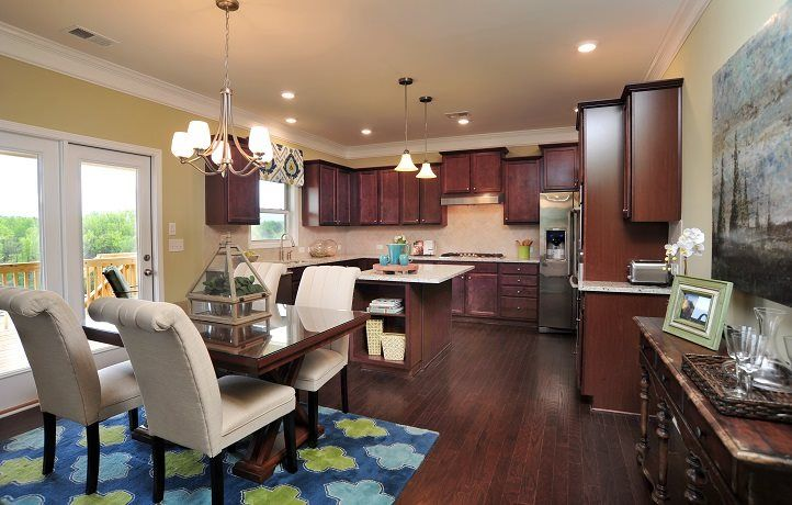 Kitchen-in-Camellia w/Basement-at-The Gardens of Harmony-in-Canton