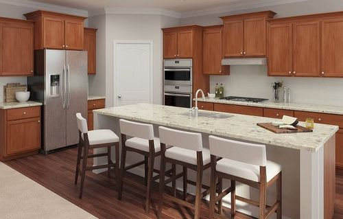 Kitchen-in-Fairfield-at-The Gardens of Harmony North-in-Canton