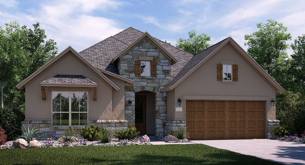 Reserve At Caballo Ranch In Leander Tx New Homes Amp Floor