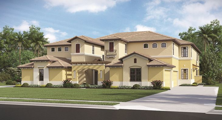 Carriage homes exterior