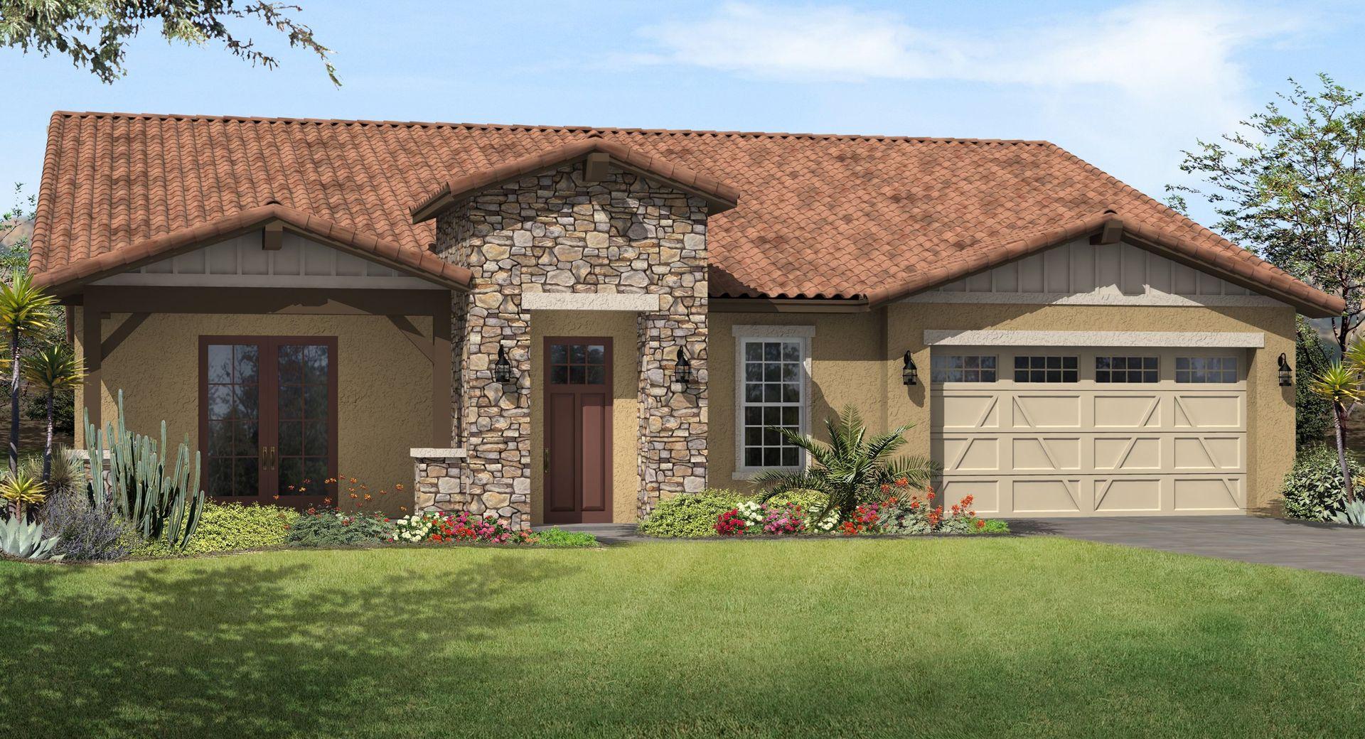 Legacy Mountain Villas in Phoenix, AZ, New Homes & Floor Plans by ...