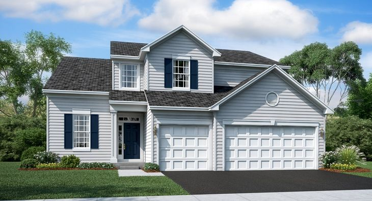 Amber Meadows In Hoffman Estates Il New Homes Floor Plans By Lennar