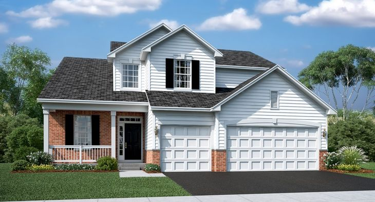 Mirabell F with Optional Brick and Rail