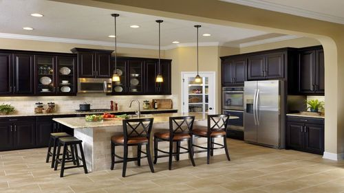 Kitchen-in-BRENTWOOD-at-Estancia - Ravello at Estancia-in-Wesley Chapel