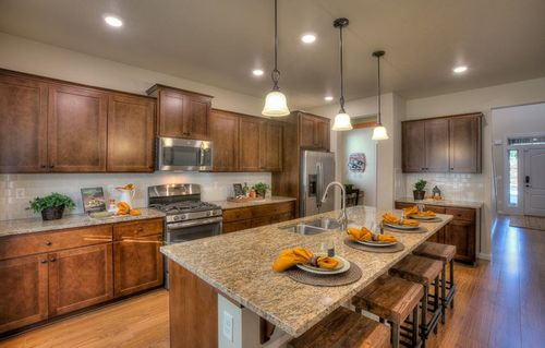 Kitchen-in-Larwood-at-Kennedy Farm - The Cascade Collection-in-Ridgefield
