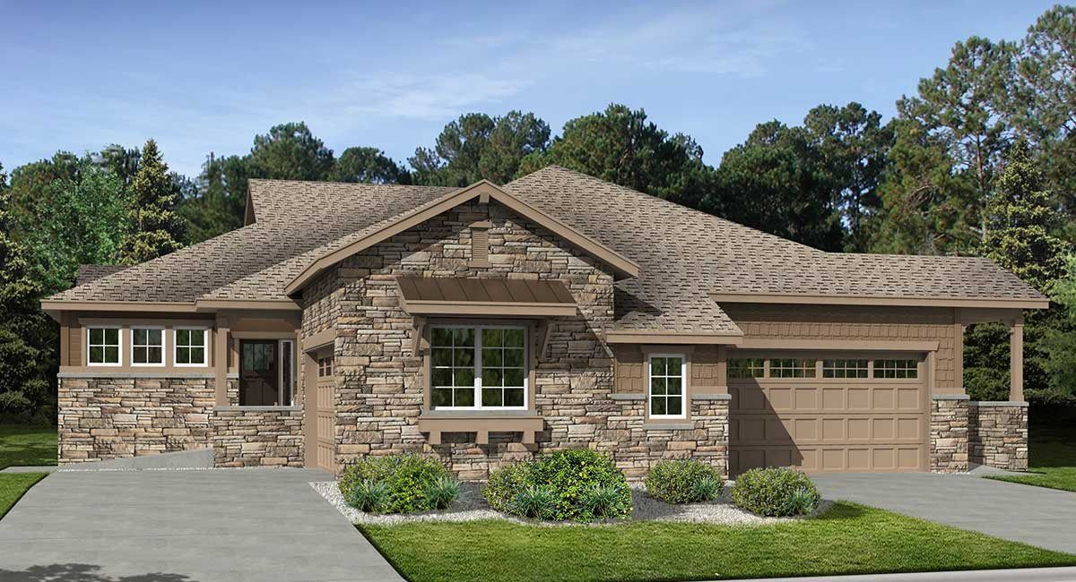 Whispering Pines Patio Villas In Aurora Co New Homes