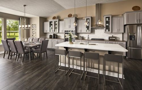 Kitchen-in-Chesapeake-at-Whelchel Springs - Fairmont-in-Fishers
