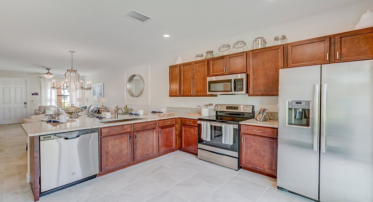 Kitchen-in-Sovereign-at-Verona Trace - Townhomes - Towns Collection-in-Vero Beach
