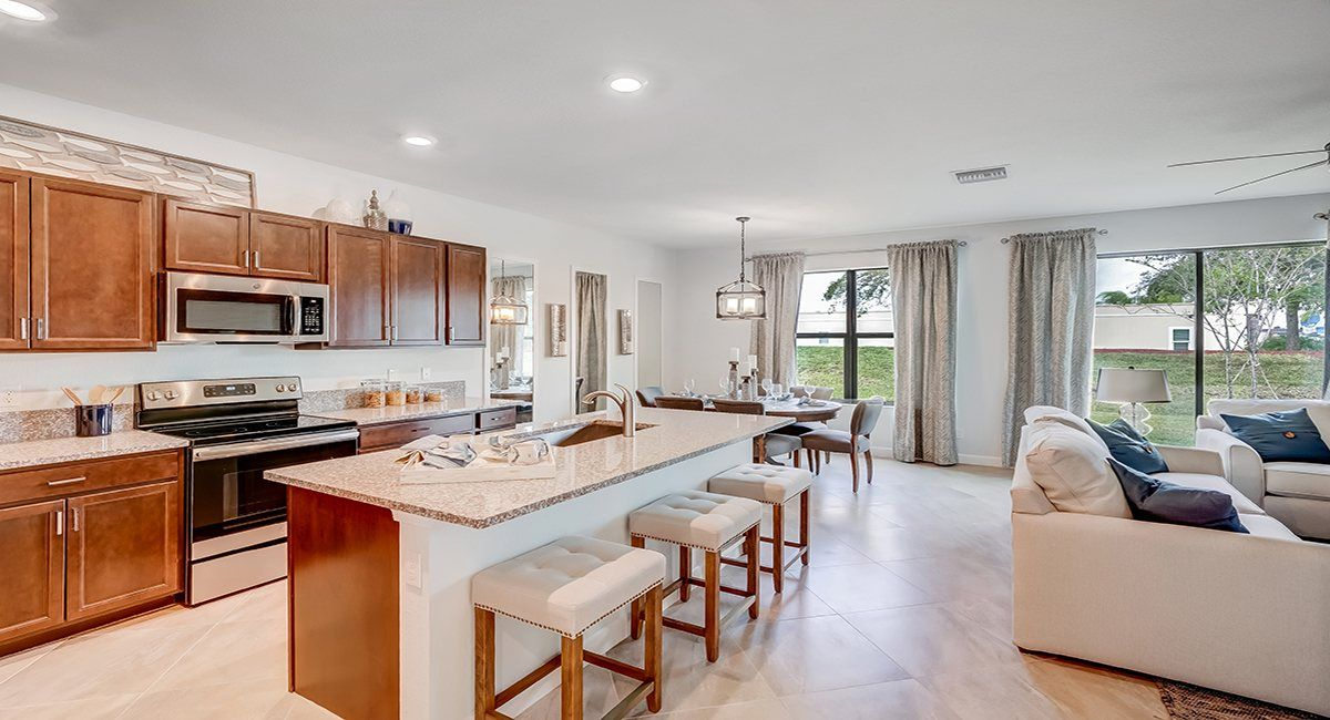 Kitchen-in-Monarch-at-Verona Trace - Townhomes - Towns Collection-in-Vero Beach