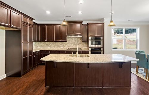 Kitchen-in-Magnolia-at-Mountain Crest - Martingale at Mountain Crest-in-Cumming