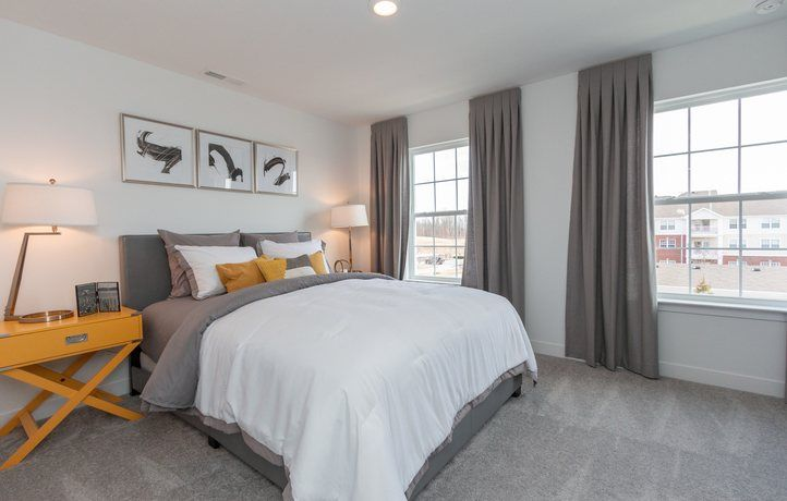 Bedroom-in-Talbott II-at-Legacy - Prairie at Legacy-in-Carmel