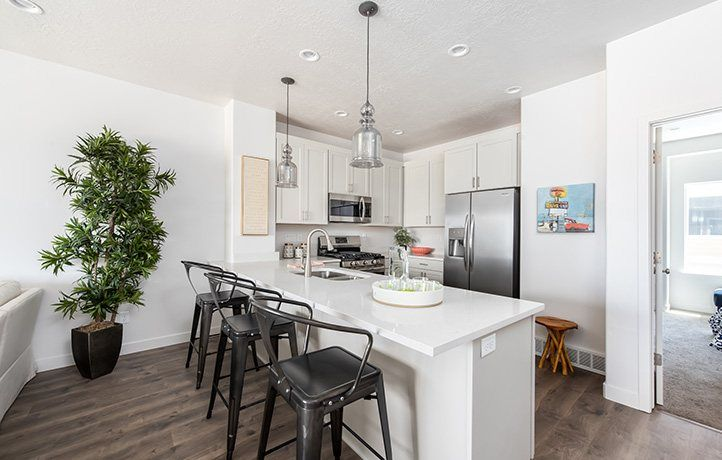 Kitchen-in-Unit D-at-Cobalt Village Townhomes-in-Bluffdale