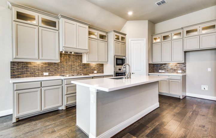 Kitchen-in-Medina II-at-Estates at Shaddock-in-Frisco