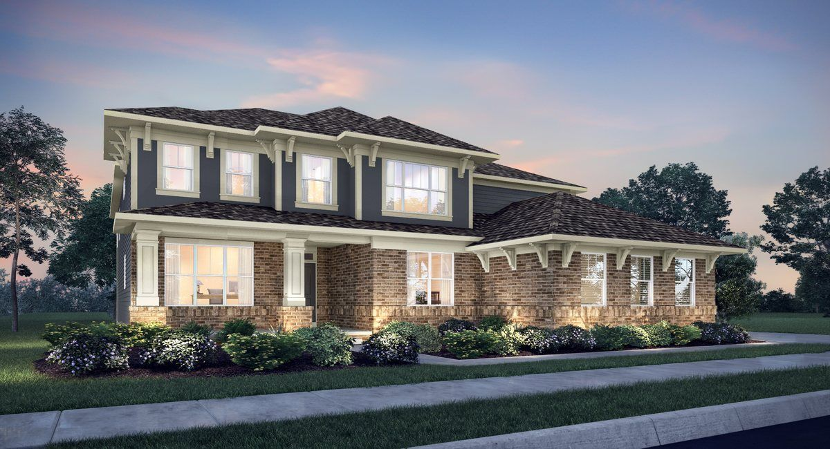 Whelchel Springs Murrieta In Fishers In New Homes