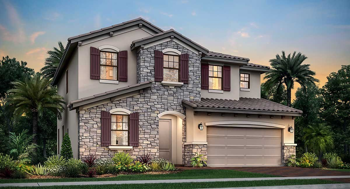Exterior featured in the Somerset By Lennar in Palm Beach County, FL