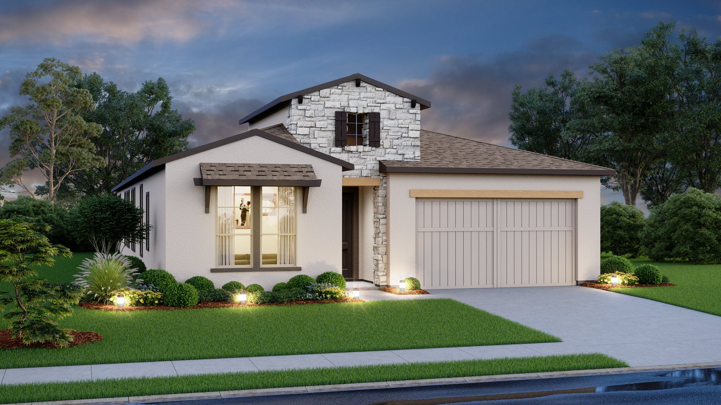 Exterior featured in the Toledo By Village Builders in Austin, TX