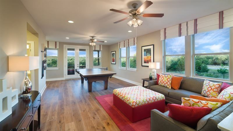 Living Area featured in the Mesa By Village Builders in Austin, TX
