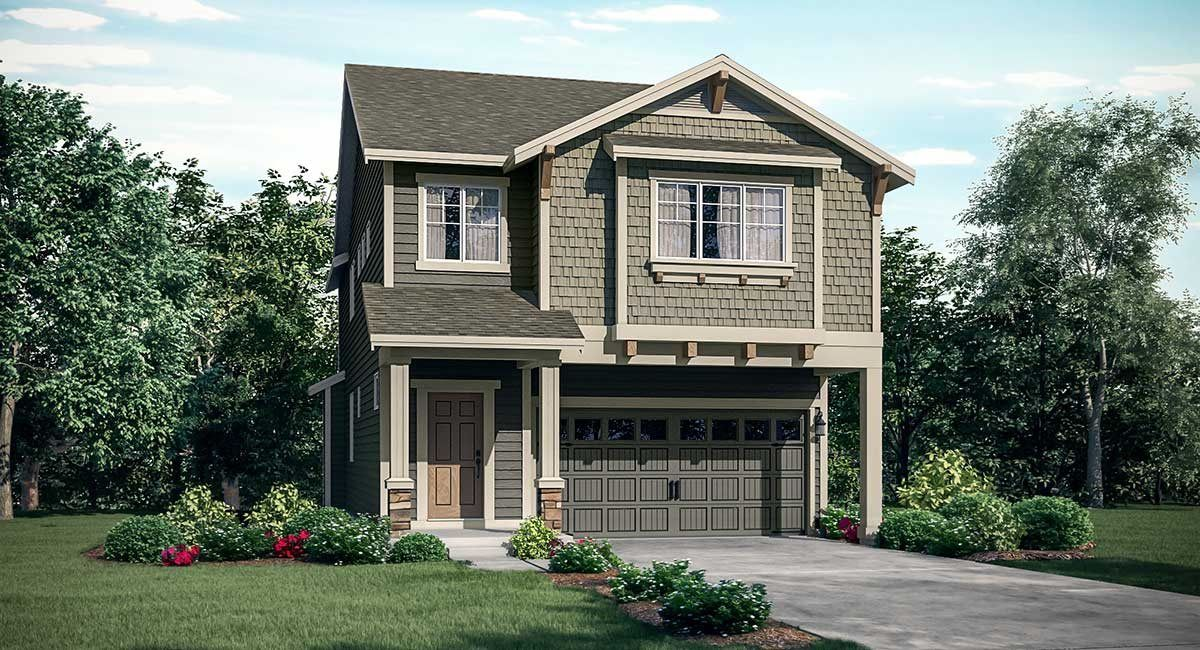 Exterior featured in the Laurel By Lennar in Seattle-Bellevue, WA