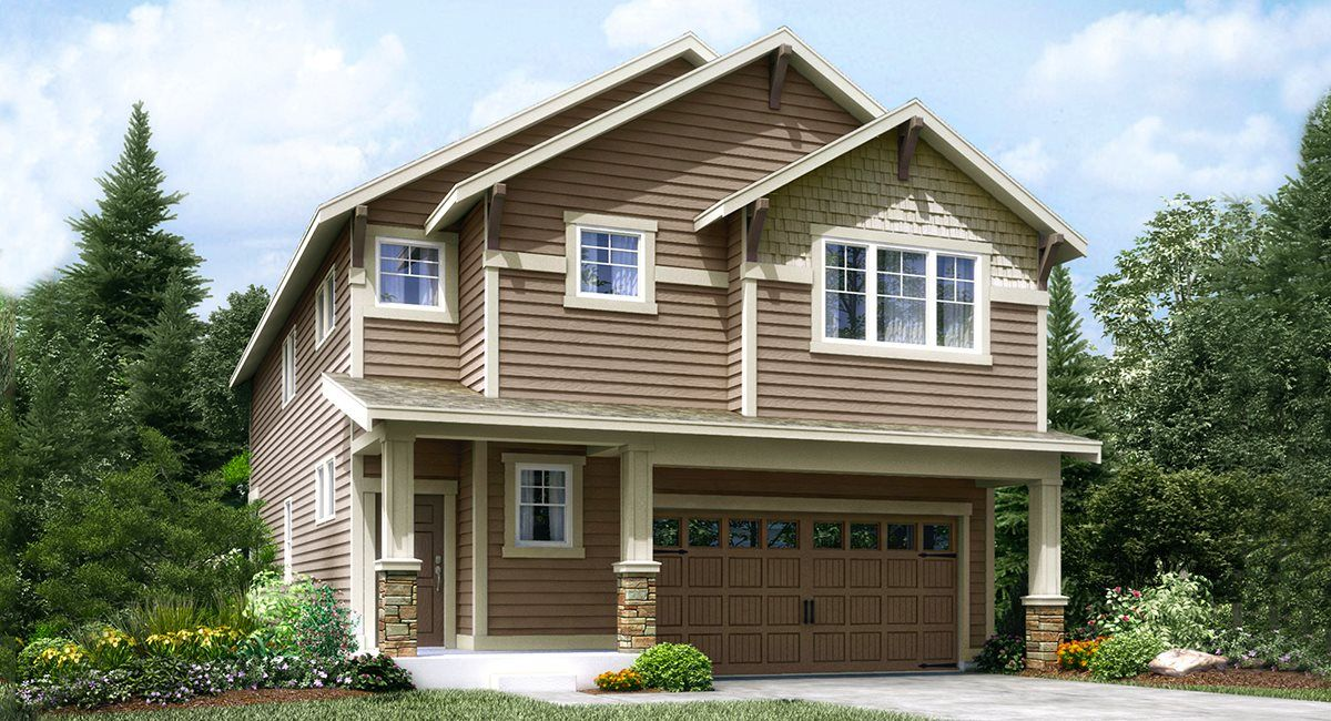 Exterior featured in the Magnolia By Lennar in Seattle-Bellevue, WA