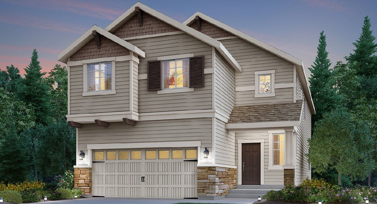Exterior featured in the Sequoia By Lennar in Seattle-Bellevue, WA
