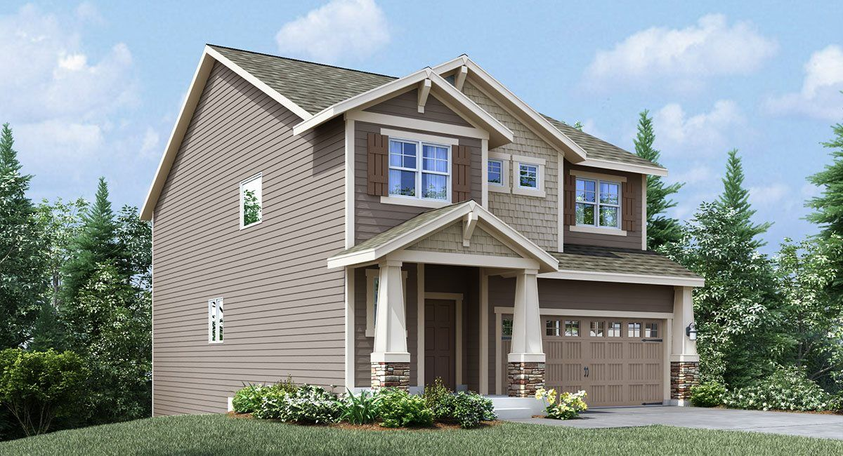 Exterior featured in the Ballinger By Lennar in Seattle-Bellevue, WA
