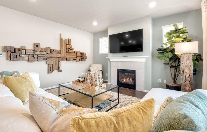 Living Area featured in the Aspen, Village By Lennar in Seattle-Bellevue, WA