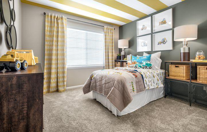 Bedroom featured in the Aspen, Village By Lennar in Seattle-Bellevue, WA