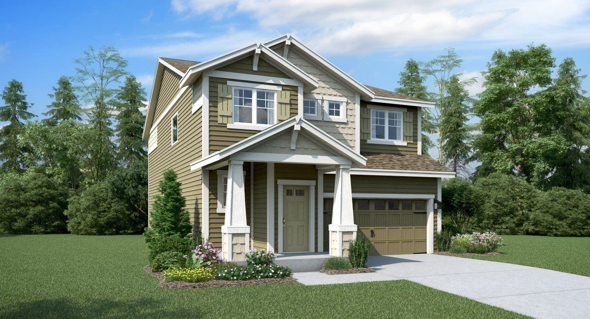 Exterior featured in the Hickory, Village By Lennar in Seattle-Bellevue, WA