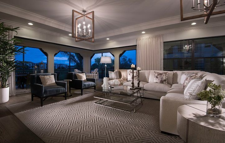 Living Area featured in the Residence 01 By WCI in Naples, FL