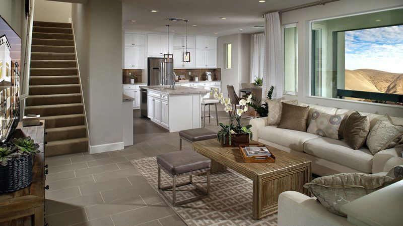 Living Area featured in the Residence Four By CalAtlantic Homes in Oakland-Alameda, CA