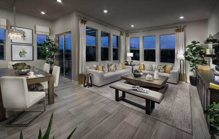 Living Area featured in the Residence 3ALT By Lennar in San Diego, CA