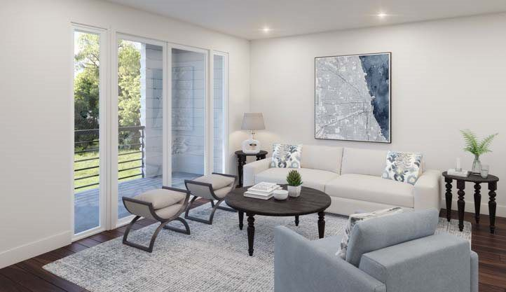 Living Area featured in the Residence 3 By Lennar in San Jose, CA